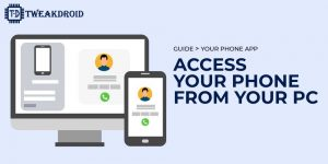 Connect your android phone to pc or laptop wirelessly