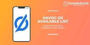 Havoc OS - List Of Supported Devices and Features