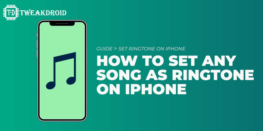 How to set any song as a ringtone on iphone without computer